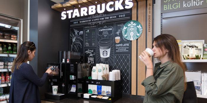 'Starbucks on the go' şimdi Türkiye'de