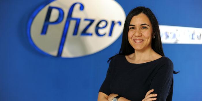 Pfizer Çok Kanallı Pazarlama Avrupa Bölge Lideri Çağla Hullu oldu
