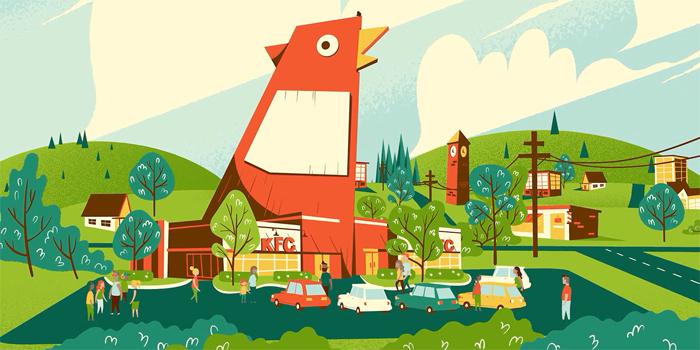KFC'nin restorasyonu duygusal bir animasyonla tanıtıldı