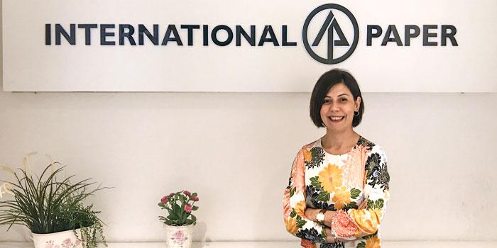 Olmuksan International Paper'a yeni Kurumsal Gelişim Direktörü
