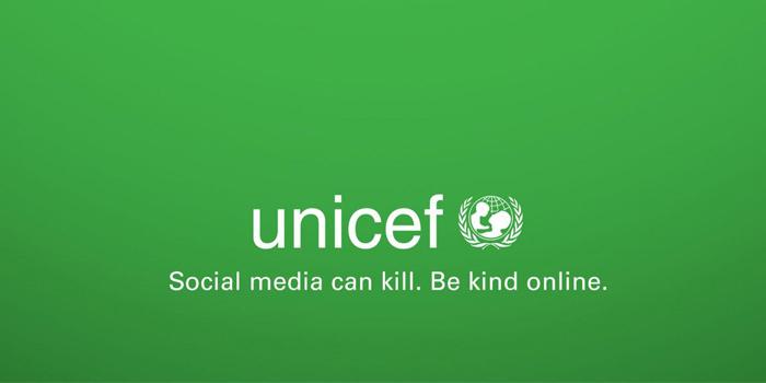 UNICEF sosyal medya trollerine karşı kampanya düzenledi