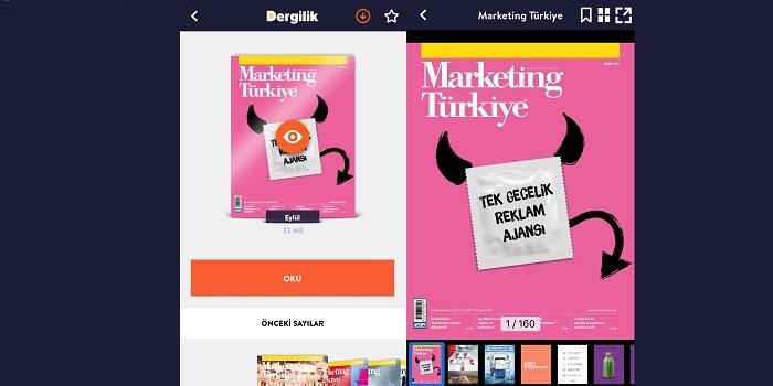 Marketing Türkiye Eylül sayısıyla Turkcell'in Dergilik uygulamasında…