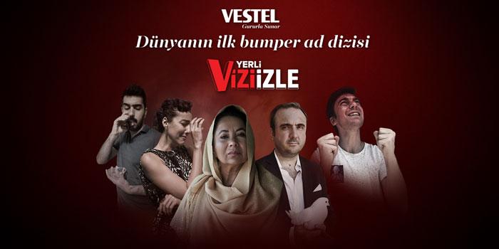 Dünyanın ilk bumper ad dizi platformu: Viziizle