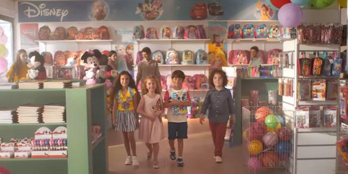 Disney'den sinema fragmanı tadında kampanya