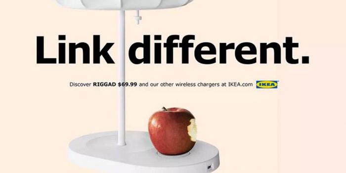 IKEA kablosuz şarj kampanyasında Apple'dan ilham aldı