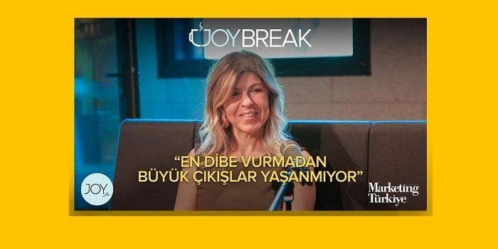 Joy Break'in bu haftaki konuğu Gamze Cizreli oldu...