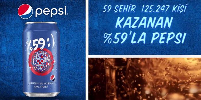 Pepsi tadım testlerinin kampanya filmini yayınladı
