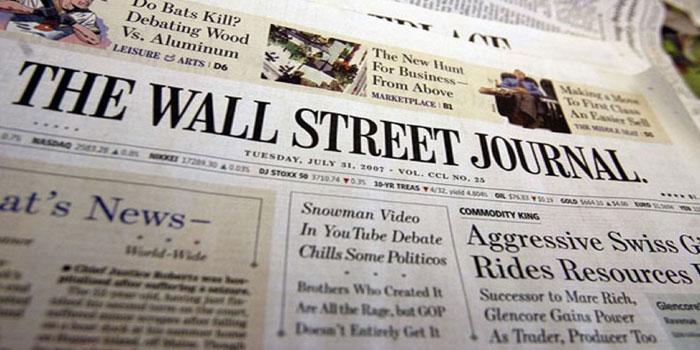 Wall Street Journal baskıyı durduruyor