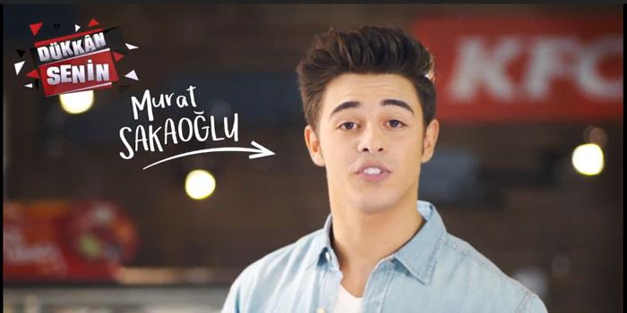 Ünlü fenomen, KFC reklamında...