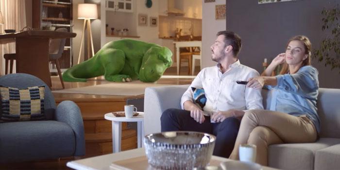 Dinozor kombileri tarihe gömen kampanya