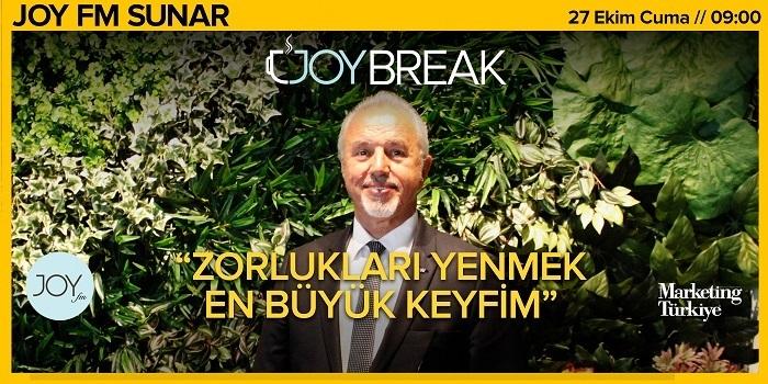 Joy Break'te Günseli Özen'in bu haftaki konuğu İnoksan Yönetim Kurulu Başkanı Vehbi Varlık