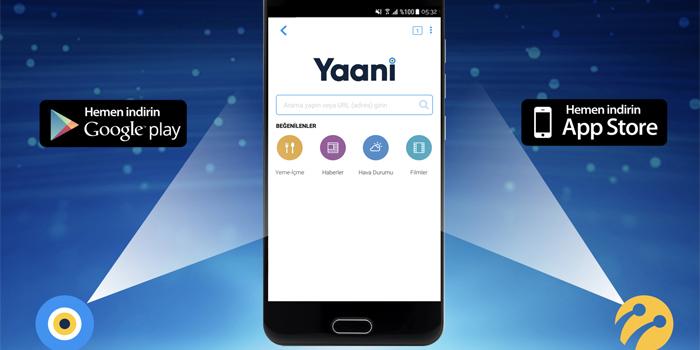 Turkcell yeni arama motoru Yaani'yi duyurdu
