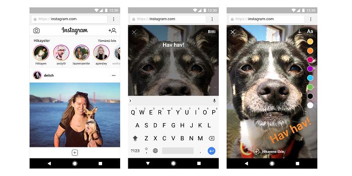 Instagram'dan iki devrimsel yenilik: Artık web sitesinden de hikaye ve fotoğraf paylaşılabilecek...