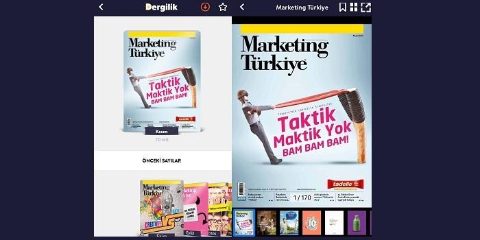 Marketing Türkiye Kasım Sayısıyla Turkcell'in Dergilik uygulamasında…