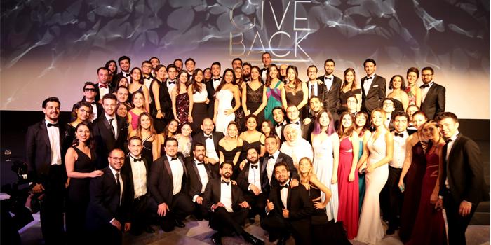 İş ve girişimcilik dünyası Giveback Gala'da bir araya geldi