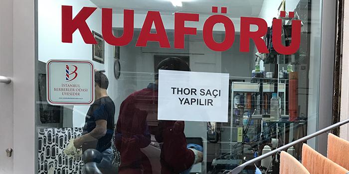 Yeni Thor filmi Eminönü esnafının diline düştü