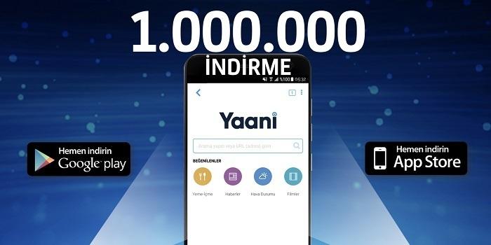 """Turkcell'in yerli arama motoru """"Yaani"""" 1 haftada 1 milyon indirildi"""