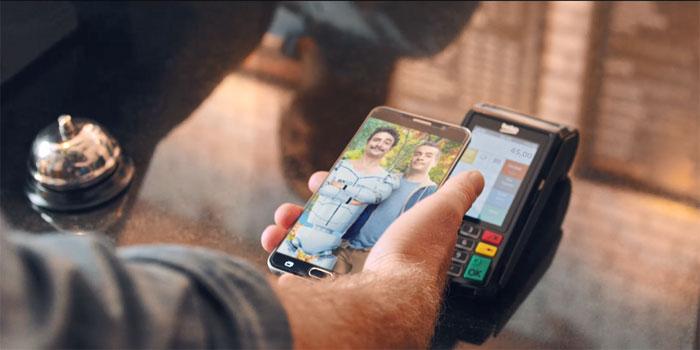 Gary ile Metin mobil ödeme ekranında