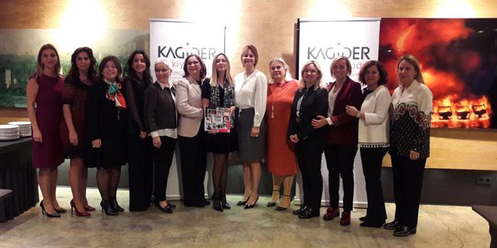 """KAGİDER'den 15. yıla özel """"ilham veren kadınlar"""" kitabı"""