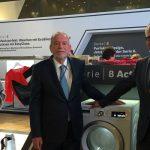 Ronald Grünberg(BSH İcra Kurulu Üyesi)&Norbert KLEIN(CEO)