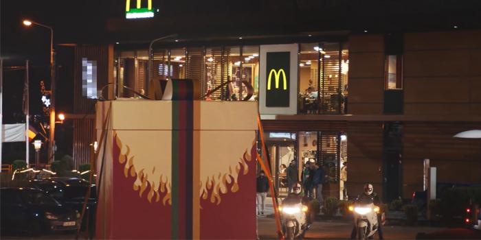Burger King'den McDonald's'a sürpriz paket