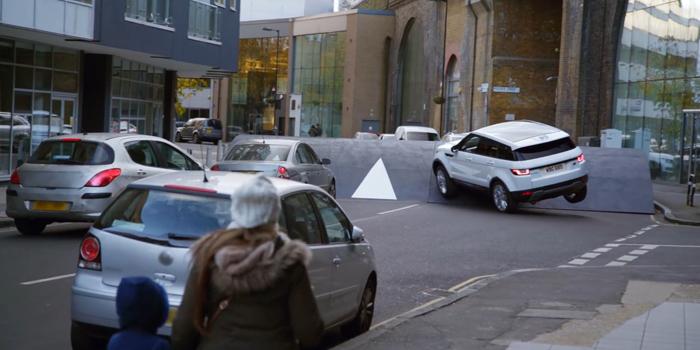 Land Rover'dan sıra dışı gerilla pazarlama örneği