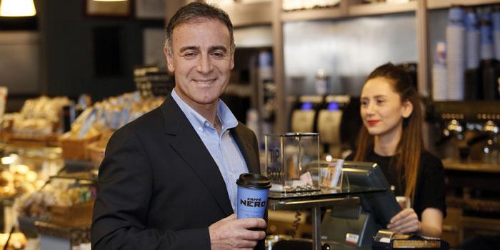 Caffè Nero'nun CEO'su Ahmet Yanıkoğlu oldu