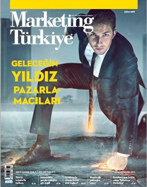 Geleceğin yıldız pazarlamacıları! Marketing Türkiye Şubat sayısında...