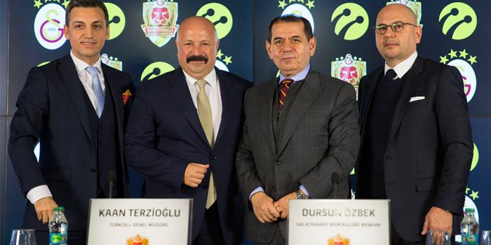 Galatasaray Turkcell ile dijitalleşiyor