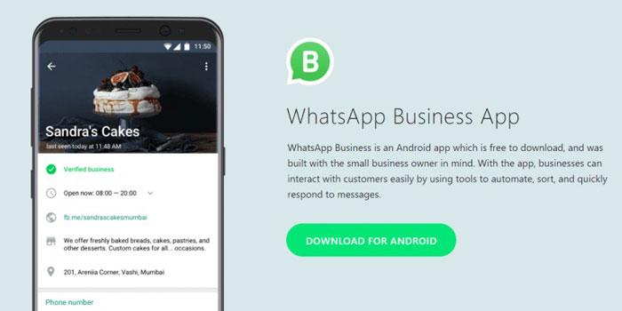KOBİ'lere özel WhatsApp Business geliyor