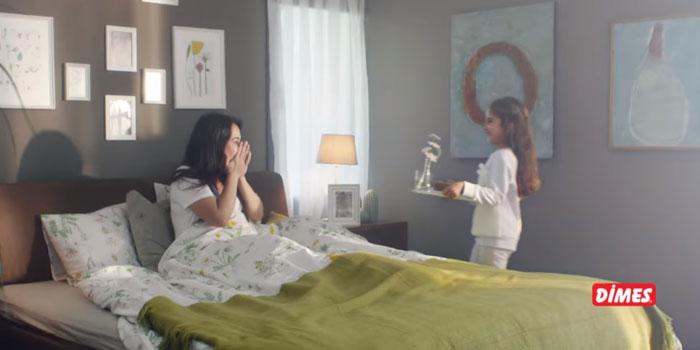 """DİMES'le """"Kahvaltıya Başka Bak"""" reklamı yayında"""