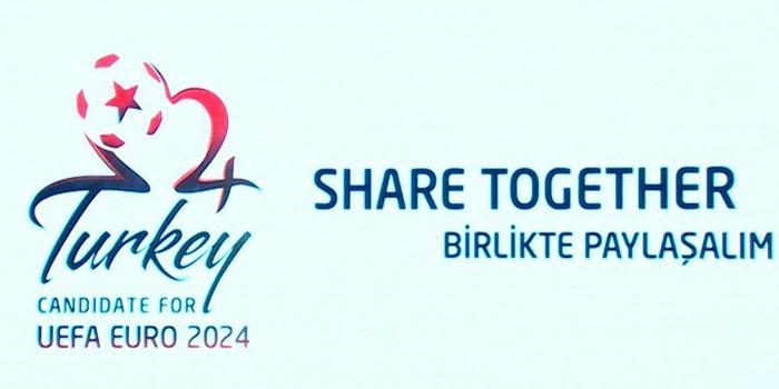 TFF, EURO 2024 adaylık sloganını ve logosunu açıkladı