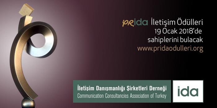 PRİDA İletişim Ödülleri'ne yoğun ilgi