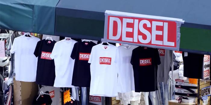"""Diesel kendi """"sahte"""" mağazasını açtı!"""