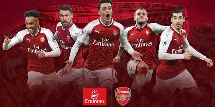 Emirates ve Arsenal'dan rekor sponsorluk anlaşması