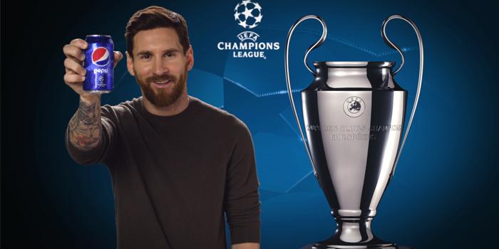 Pepsi UEFA Şampiyonlar Ligi ortaklığını uzattığını açıkladı