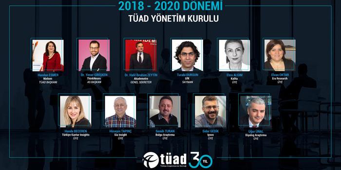 Türkiye Araştırmacılar Derneği'nin yeni Yönetim Kurulu belli oldu