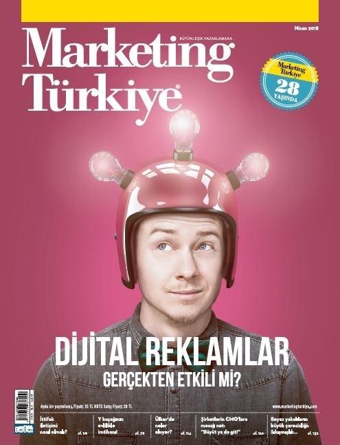 Dijital reklamlar gerçekten etkili mi? Marketing Türkiye Nisan sayısında!