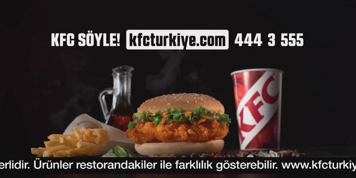 KFC Zinger Burger kampanyasıyla reklamda kuralları yıkıyor