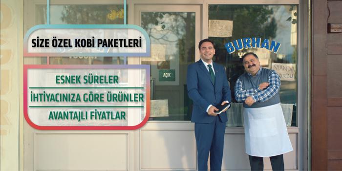 """Kuveyt Türk """"Her KOBİ'nin İhtiyacı da Çözümü de Başka"""" diyor"""