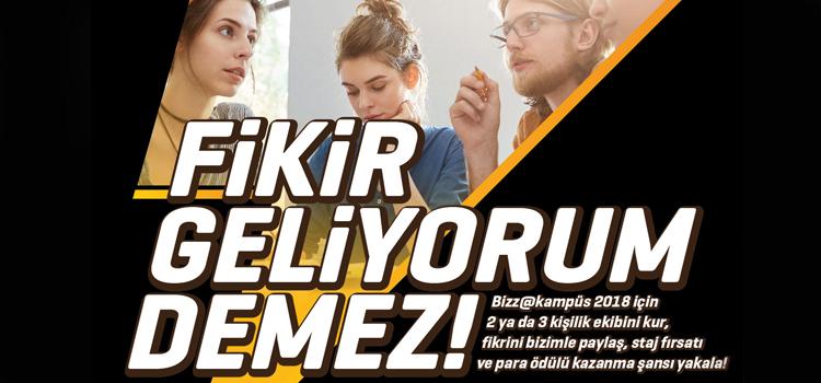 """Parlak fikirler """"bizz@kampüs""""te Ülker Metro için yarışacak…"""