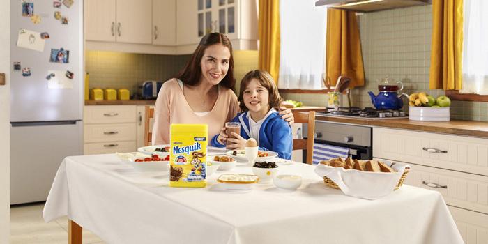 Nesquik'in yeni reklam kampanyası yayında