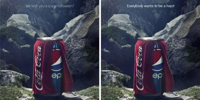 Ezeli markaların karşılaştırmalı reklamları: Pepsi vs Coca-Cola