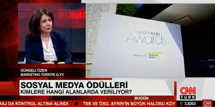 Social Media Awards Turkey 2018'in tüm detayları CNN Türk'te konuşuldu