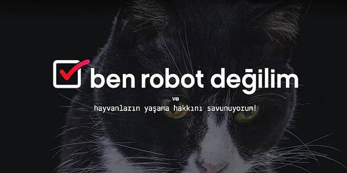Vestel'den hayvan şiddetine karşı anlamlı kampanya: Ben Robot Değilim