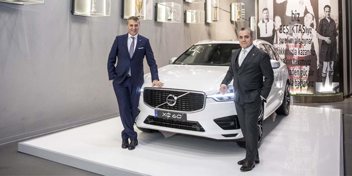 """Volvo, Beşiktaş'ın """"Premium Otomotiv Partneri"""" oldu"""