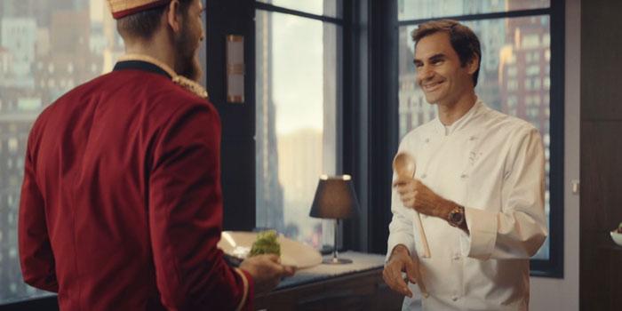 Barilla'nın Roger Federer'li ikinci reklam filmi ekranlarda