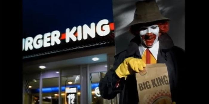 Ezeli rakiplerin karşılaştırmalı reklamları: McDonald's vs Burger King