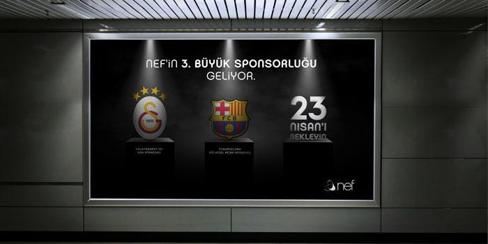 23 Nisan'da Nef'ten anlamlı sponsorluk anlaşması
