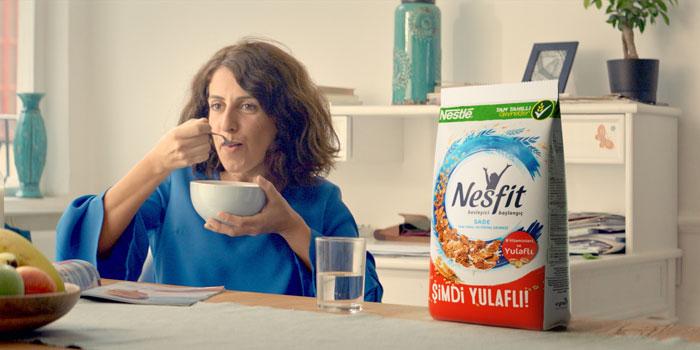 Nesfit'ten yeni yulaflı içeriğe yeni reklam